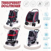 Outdoor Pet Cart Dog Cat Carrier Stroller Cover Rain For All Kinds Of And Carts Beds & Furniture