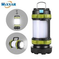 Tragbare LED Camping Licht Arbeitslicht Outdoor Zelt Licht Handheld Taschenlampe USB Wiederaufladbare Wasserdichte Suche