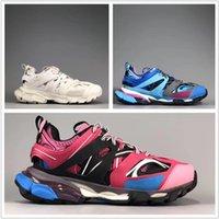 Saco S 3 .0 Nova cor cor-de-rosa Triple Triple Mulheres Azul Homens Tess Sapatilhas Casuais Sapatos Casuais Moda Papel Pó Branco Com Lhisx