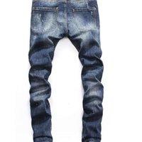 Verano 2021 Jeans para hombres al por mayor, producción europea de mezclilla de ropa de buena calidad Bienvenido al tamaño 28-38: 44-54 02
