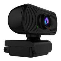 Cámaras de vista trasera Cámaras Sensores de estacionamiento 2021 Cámara web de cámara web de alta definición con micrófono Video Streaming Widescreen USB