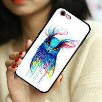 Cases Watercolor Owl Phone case cover for Samsung Galaxy S8 S9 S10 S20 S21 Ultra Note 8 9 10 20 soft tpu shockproof Protector back casing original design