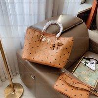 Hohe Qualität Frauen Handtaschen Geldbörsen Schultereinkaufstaschen Clutch Luxus Designer Leder Crossbody Composite Bag Code Graffiti Handtasche Tote Hobo