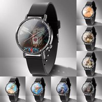 Наручные часы 2021 Прибытие Аниме one Piece Luffy Zoro Sanji Nami Для Женщин Часы Часы Кварцевые наручные часы Женские Часы Брейф Дары 02