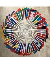 14x21cm-Länder Handflaggen Sie wollen Nationale Welt Land Hand Flags Kleine gedruckte Hand Flagge Kundenspezifische Flagge