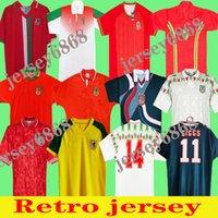 País de Gales 98 90 92 93 94 95 96 Retro Jersey Jersey Giggs Hughes Saunders Rush Boden Velocidade Vintage Camisa de Futebol Clássico