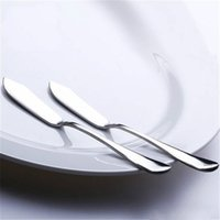 أدوات الجبن الفولاذ المقاوم للصدأ أواني السكاكين زبدة سكين الحلوى مربى الموزر أداة الإفطار BWD5979