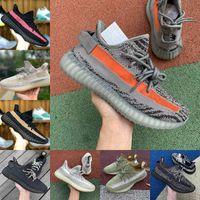 2021 Yeni Kanyes Yecheil Yeshaya Siyah Statik Citrin Bulut Beyaz 3 M Yansıtıcı Rahat Ayakkabılar Gid Glow Gerçek Formu Kil Tereyağı Erkek Kadın Tasarımcı Eğitmenler U1