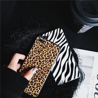 Leopard Pattern Cell Phone Cases for Iphone 13 12 11 Pro Max Women Men Aesthetic Protective Cover Bulk 97280