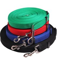 Dog Collars & Leashes Fairly Long 12M 15M 20M 30M Retractable Nylon Lead Leash For Pets Collar Harness Accessories Drop