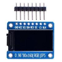 IPS de alta definición IPS 0.96 pulgadas TFT Pantalla a todo color OLED 80x160 Pantalla ST7735 Módulo LCD de la unidad Otras puertas Hardware