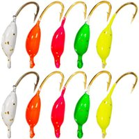 Fishing Hooks High Reliability Long-lasting Wear Resistant Ice Jigs For Outdoor
