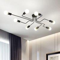 الحديثة أدى مصابيح السقف قلادة مصابيح الإضاءة غرفة المعيشة الثريات المنزل الإبداعي مصابيح الثريا مصباح تركيبات F-PL-1942