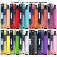 원래 Vapen Plus 800Puffs 일회용 vape 펜 전자 담배 키트 550mAh 배터리 3.5ml 용량 vapes 조디악 휴대용 기화기 미리 채워진 바 증기 도매