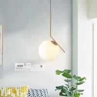 Pendant Lamps Led Postmodern Nordic Iron Glass Bubbles Designer Lights For Dinning Room Kitchen Restaurant Suspension Luminaire