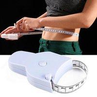 1.5 متر اللياقة البدنية دقيقة الجسم الدهون الفرجار الشريط يقيس اللياقة البدنية المسطرة الخاصة قياس الأشرطة القياس مع مقبض HHA4790