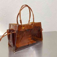 Handbag Women Designers Luxurys Bags Luojia Jelly Bag New Transparent Large Capacity Fashion Shopping Bag New Style Foreign Style13Y1