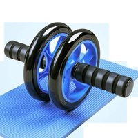 AB Roller Kit forte Charge Roulement Push Up Bar Jump Corde Tape à genoux Accueil Fitness Gym Gym Abdominal Core Muscle Exerciseur JLLWUC