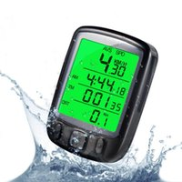 Bike Computers Bicycle Computer Wired Stopwatch Lightweight Life Waterproof Speedometer For Outdoor Cycling 2021