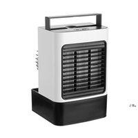 Anion Neufrechargeable Air Cool de refroidisseur d'air USB Mini Purification de refroidissement portable Purification du ventilateur de bureau de bureau de bureau pour bureau Accueil EWB7891