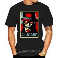 Camisetas para hombres hombres Tshirt Alucard Hellsing Shirt Camiseta fresca de las mujeres Camisetas Top