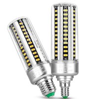 LED Corn Bulb 3000K 6000K Cool Daylight E26 E27 E14 B22 Base for Outdoor Indoor Garage Warehouse High Bay Barn Backyard and More crestech