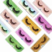10 Pairs Wholesale Faux Mink Eyelashes Natural Long Fake Lashes Wispy 3D Eyelash Makeup Tools Soft Eyelash