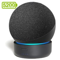 yutong GGMM D4 Original Docking Station For Echo Dot 4th Gen Portable Battery Base Alexa Smart Speaker Holder Mount Charger