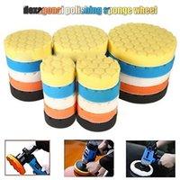 Cleaning Cloths Ly 5pcs set Car Polisher Sponge Polishing Waxing Buffing Pads Kit Set VA88
