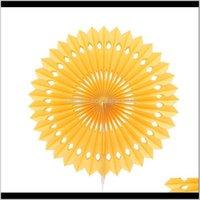 اكاليل الزهور 1 قطعة 20 25 30 سنتيمتر pinwheel المشجعين زهرة الأنسجة ورقة الحرفية الزفاف استحمام الطفل عيد إمدادات الديكور wmtjqu h de4kg