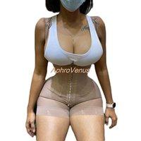 Fajas Reductoras Latex Body Shaper Levanta Cola Post Parto Surgery Girdle Slimming Underbust Corset Butt Lifter Waistrainer