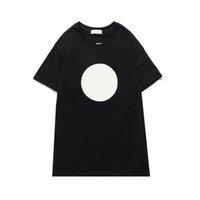 Homens t-shirt letra impressão nova manga curta na moda verão top ins moda casual camiseta mulheres roupas frescas esporte ativo corrida quente 2021