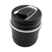 유니버설 자동 자동차 LED 가벼운 휴대용 애쉬 트레이 재떨이 담배 담배 무연 컵 홀더 인테리어 액세서리