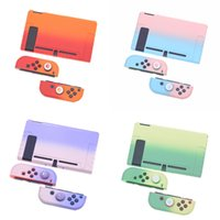 Good Quality Multi-colors Game Accessories Color Changing Dockable Protective Case for Nintendo Switch and Joy-Con Controllers