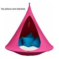 Camp Furniture 100*110CM Flying Saucer Lightweight Portable Nylon Hammock For Backpacking Camping Essentials Travel Tools Drop