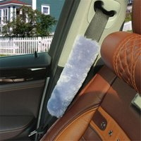 Safety Belts & Accessories Soft Car Seat Belt Covers Universal Velvet Shoulder Cushion Protector Backpack Straps Protection