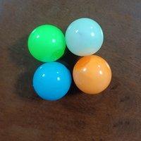 DECOMPRESSIONE giocattolo soffitto appiccicoso palla muro palla luminosa luminosa nel buio squishy anti stress bersaglio palle stringersi squeeze sollievo adulto bambini fidget giocattoli regalo festa
