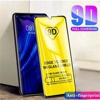9D Tempered Glass Screen Protector for Samsung galaxy A70 S10Lite Full Cover Glue 2.5D 9H film Anti-Scratch