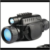 Teleskop Dürbün Kızılötesi Monoküler 5x40 Zoom Nightvision Gözlük 200m Mesafe Gece Gözlem ve Dijital IR Avcılık Kbryv