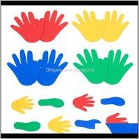 Oyunlar Etkinlikler Çocuklar El Ayak Duyusal Oyun Oyunu Eğitici Oyuncaklar Çocuklar için Açık Kapalı Cling Atlama Etkinlik Anaokulu Prop S QHITQ