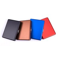 Cool Colorful Portable Aluminium Cigarette Smoking Cases Multi Style Card Clip Stash Box Innovative Design Holder Tips Container Storage Protect Tool DHL