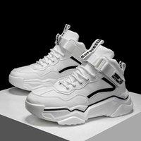 Jinbaoke عالية أعلى أحذية رياضية مصمم أحذية الركض للرجال مكتنزة أبي الأحذية تنفس الرياضة المشي الركض رياضة zapatillas
