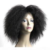 아프리카 kinky 곱슬 머리 짧은 밥 인간의 머리카락 가발 2 # 컬러 처녀 머리 밥 짧은 가발 흑인 여성