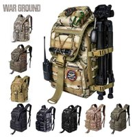 Tactical Backpack 40L Military Bag Hunting Lightweight Mens Fishing Army For Men Hiking Pouch 210907