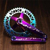 دراجة دراجة نارية chainwheels 2022 الثابتة والعتاد كرنك النفطليك 49 طن crankset fixie دراجة أجزاء 165 ملليمتر bcd 144mm