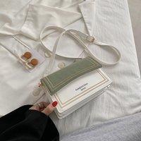 Fashion hit color messenger bag lady bag casual shoulder bag luxury designer handbag lady small square mobile phone