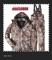 Hunting Jackets 1 Suit BROWNING Winter Windproof Waterproof Realtree AP Camo Clothing Hoodies+Bib Pants Camouflage Skiing Clothes