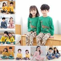 Зимняя детская одежда детская одежда набор мальчиков пижамы наборы мультфильма ночной белье мультфильм ночной мужской пижамы девушки спящие одежды детские пижамы костюмы 1106 y2