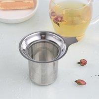 Infuser de malha de aço inoxidável Infusor Ferramentas Reusável Coffee Metal Especiarias Filtro Solto Filtro Especiaria Filtros Seaway ZZF8453