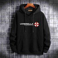 Umbrella Corporation Mode Hommes / Femmes Hoodie Spring Automne Pulls Sweatshirts Couleur unie